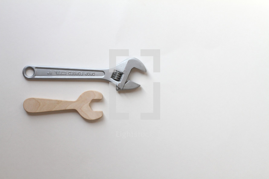 toy tools and real tools