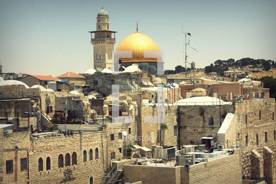 An iconic view of multicultural Jerusalem