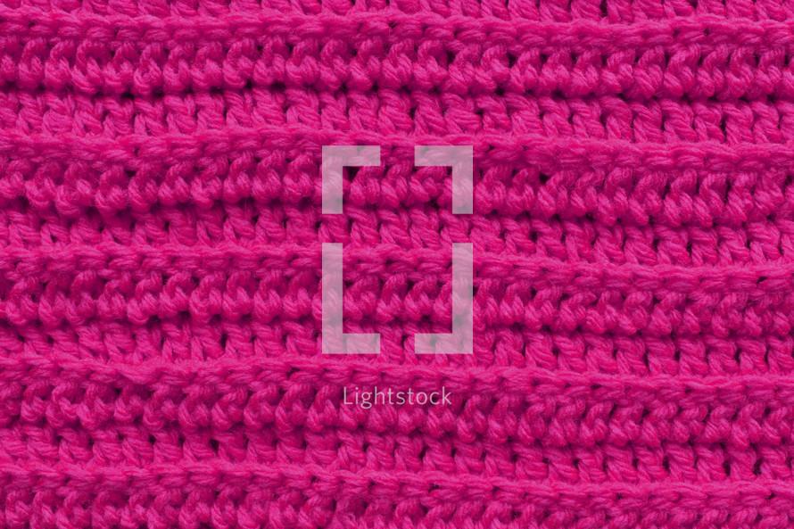 pink knit background
