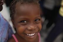 smiling girl child