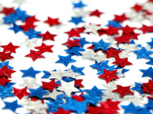 red, white, and blue stars background