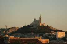 cathedral on a hill top