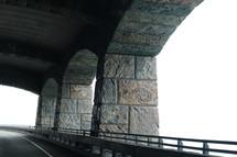 mountainside tunnel