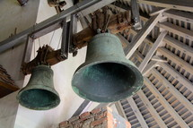bells in a bell tower
