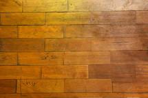 hard wood floor planks
