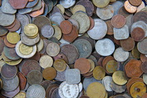 Coins foreign currency
