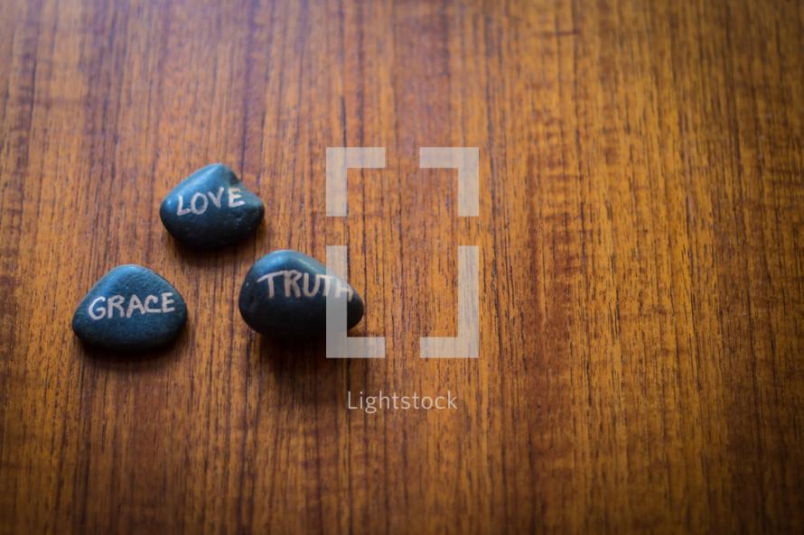 love, grace, truth