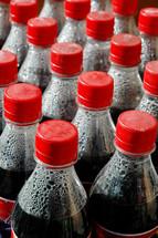 condensation in coke bottles