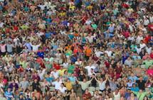 large group worship