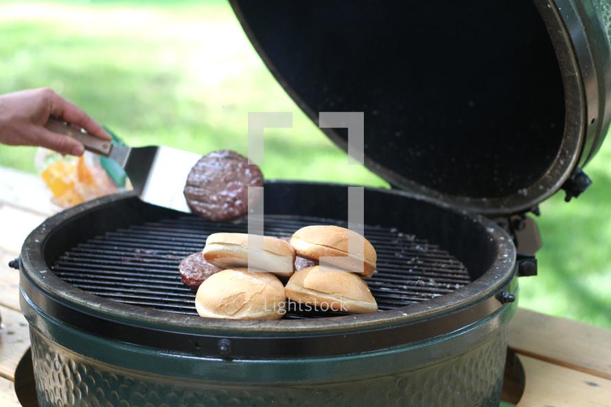 gilling hamburgers