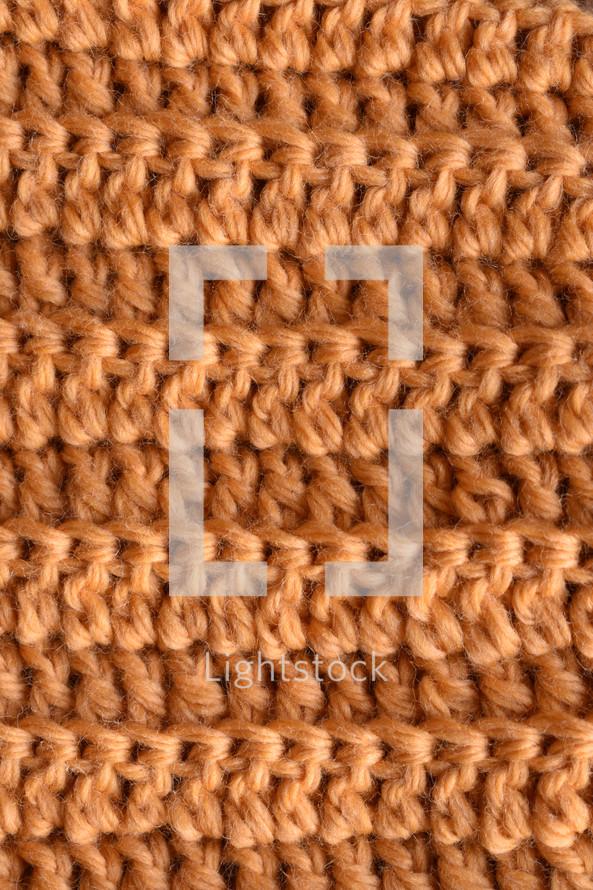 yellow knit background