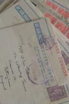 International mail.