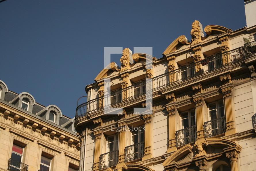 window balconies