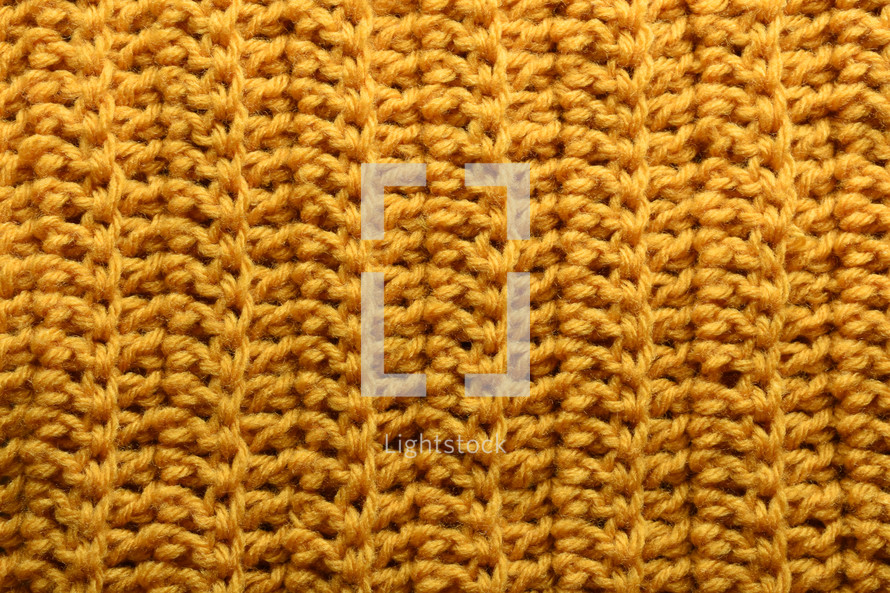 yellow knit background