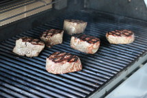 tenderloins on a grill