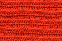 red knit background