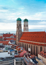 The Church of Our Lady (Frauenkirche) in Munich, Germany, Bavaria