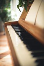 wood piano