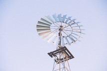 Windmill outside.
