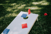 corn hole bean bag game