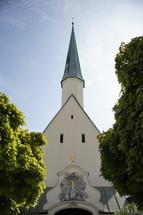 Church in Altoetting Bavaria Germany