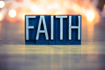 word faith sign