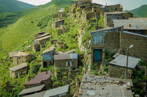 This is the old village of Ulluchara which is located in Dagestan, Russia. There are 33 different nationalities lives there. They have their own culture and traditions. Unreached people groups.
