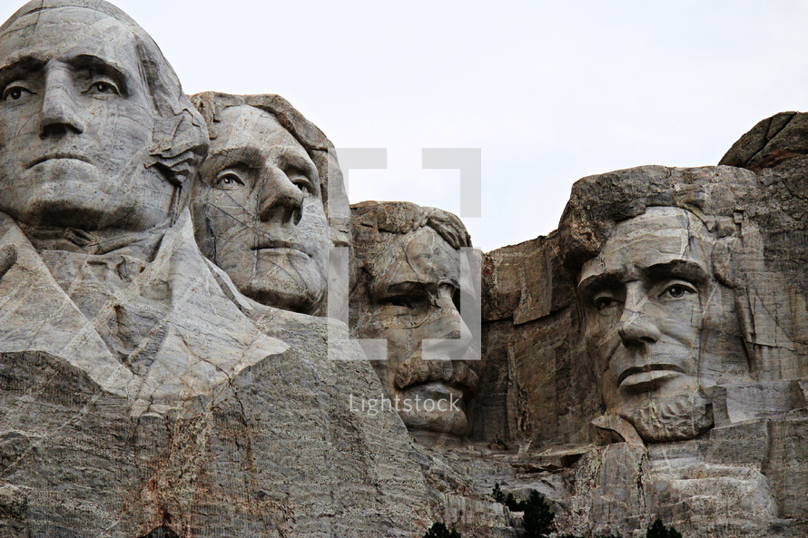 Mount Rushmore monument, president's day