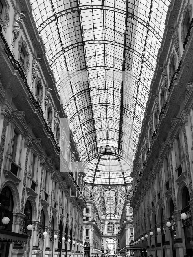 ceiling of windows