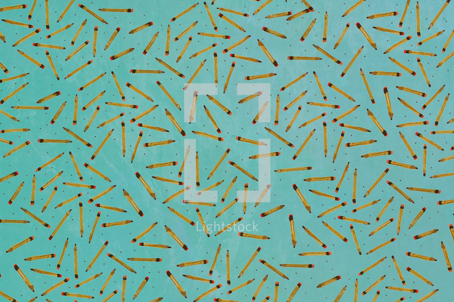 pencil fabric patterned background