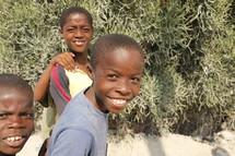 boy children smiling