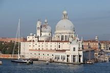 Santa Maria della Salute Cathedral in Venice