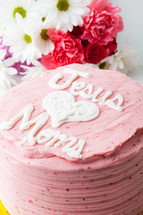 JESUS LOVES MOMS CAKE