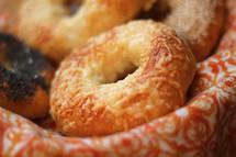 basket of bagels