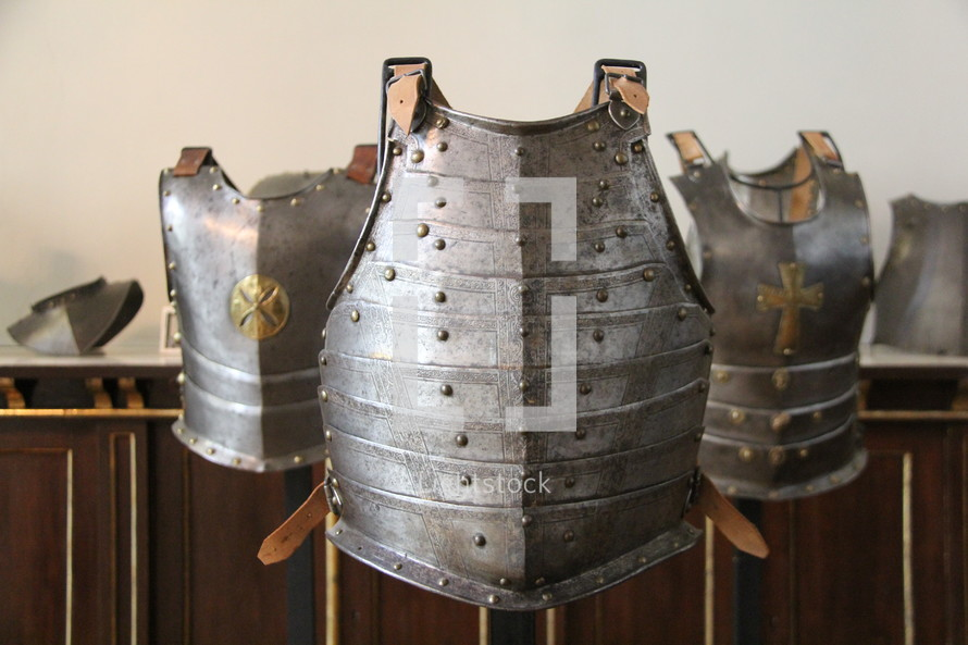 Armor breastplate - Ephesians 6,14: The breastplate of righteousness