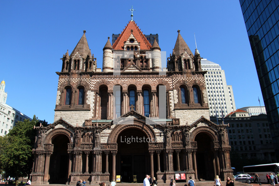 Trinity Church in Boston, MA