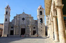 The Cathedral of the Virgin Mary of the Immaculate Conception. Havana, Cuba
