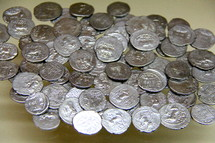 Silver Roman Coins or pieces of silver