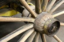 spokes on a wagon wheel