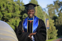African-American graduate