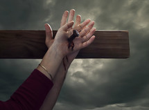 nailed to the cross with Jesus