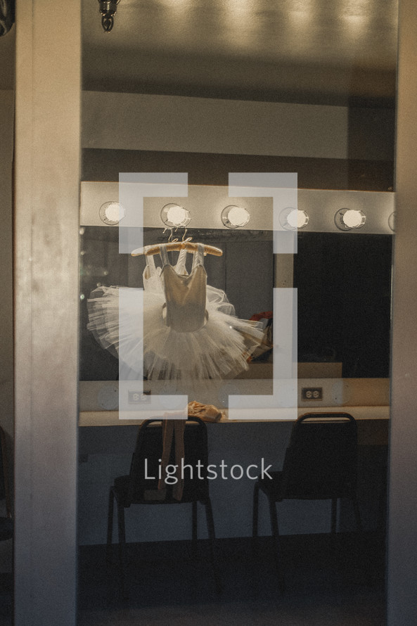 ballerina's dressing room