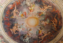 Vatican Museum Painted Dome - angels