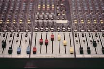 Sound board.