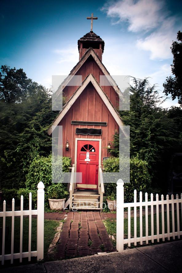 rustic church chapel