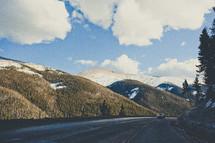 curve on a Colorado road