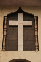 Cross made of stone