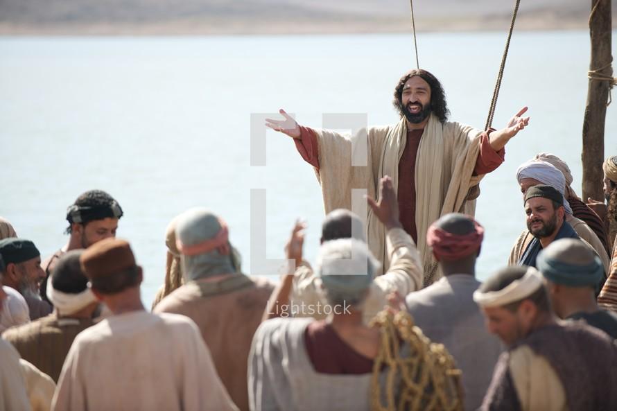 Jesus Heals The Multitudes
