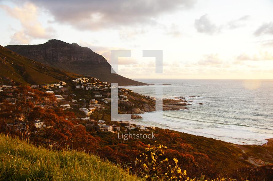 coastline village