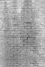 grungy white brick wall